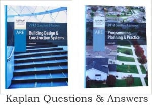 Kaplan Questions and answers - Ultimate List of ARE Study Material for the Architecture Registration Exam