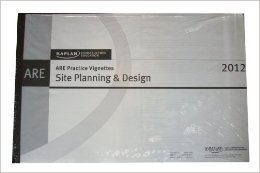Kaplan Site planning vignette book - Ultimate List of ARE Study Material for the Architecture Registration Exam