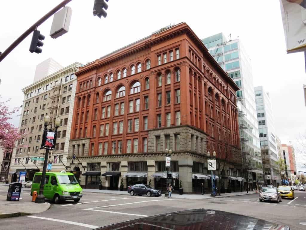 Downtown Portland building