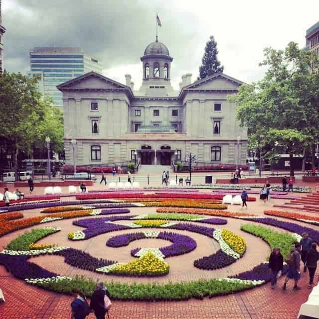 Pioneer Square, Portland Oregon