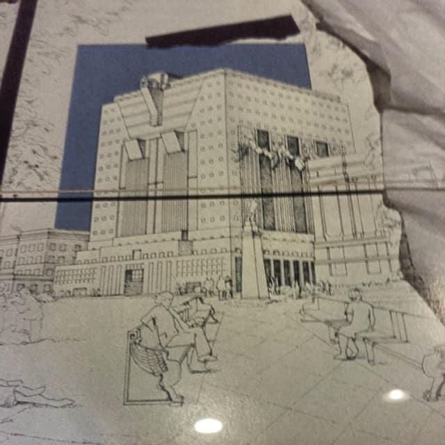"The Portland Building. ""A private joke in a public space."" - Mose Safdie"
