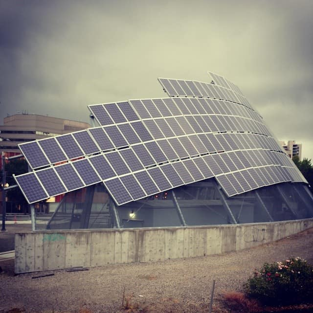 PSU Trimet Solar Array