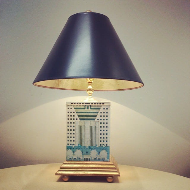 Portland Building Desk Lamp