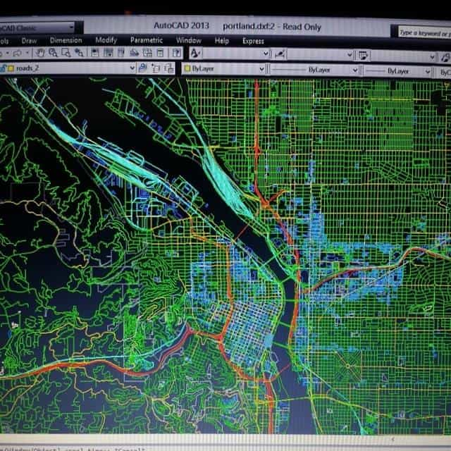 Autocad files of cities