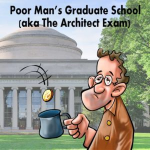 Architecture school, Graduate school and getting licensed as an Architect