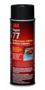 Picture of super 77 glue for Architecture model building
