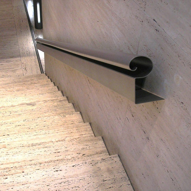 Can you name where this handrail is? I will give you a hi-5 if you can name the building! Hint: Its in America.