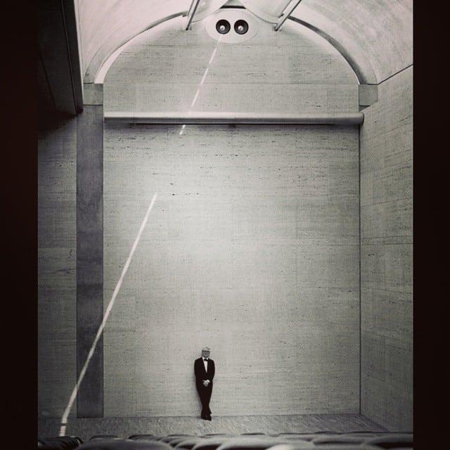 Louis Kahn Kimball Art Museum theater