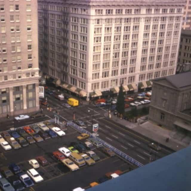 Pioneer square in Portland Oregon pre postmodernism