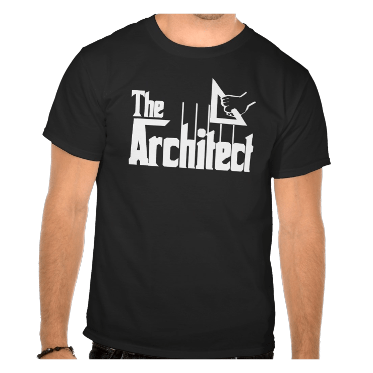 picture of The Architect Godfather t shirt