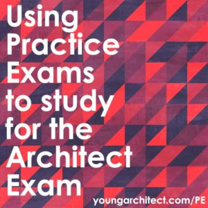 Studying for the architect registration exam