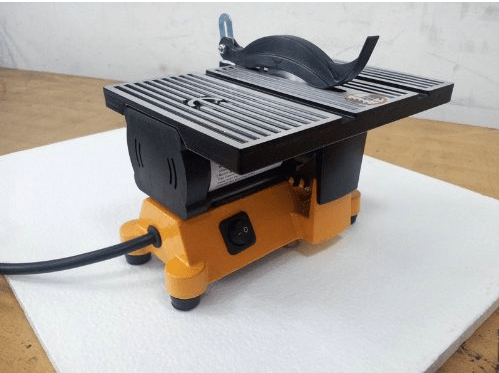 4- Mini Electric Table Saw with 2 Blades