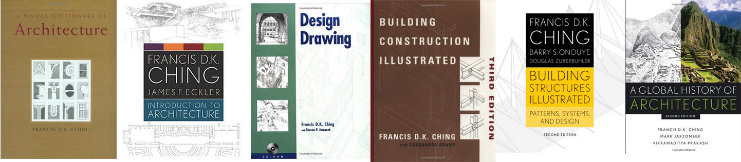 Francis DK Ching Book collection